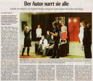 Bericht der Lippischen Landeszeitung