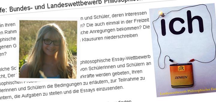 Essay wettbewerb philosophie