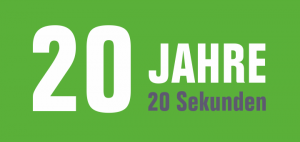Logo 20 Jahre