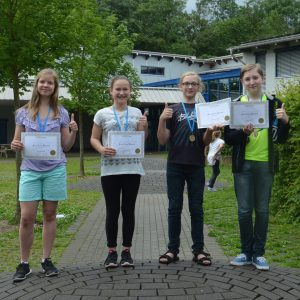 Allegra, Jana, Lennart, Jan