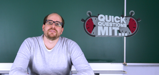 Quick Questions mit Herrn Franke